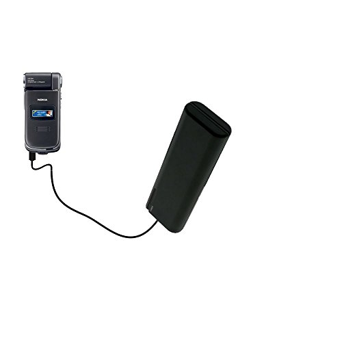 (Gomadic Portable AA Battery Pack designed for the Nokia N90 N93 N95 - Powered by 4 X AA Batteries to provide Emergency charge. Built using TipExchange Technology)