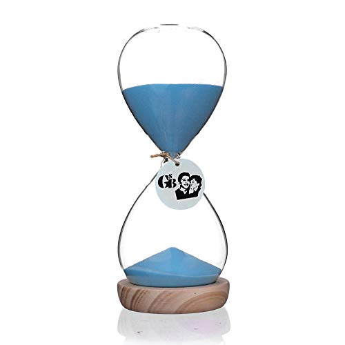 large 10 minute sand timer - 8
