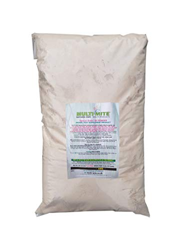 Multi-Mite 10KG DIATOMACEOUS EARTH Feed Grade DE Powder SPECIAL GRADE DE