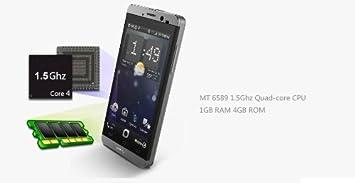 JIAYU G3s TURBO MTK6589T Quad Core 1.5GHz, 1GB RAM + 4GB ROM, Cámara