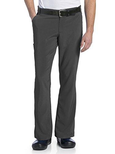 - Landau Men's Drawstring Scrub Pant with Belt Loops, Steel, Medium