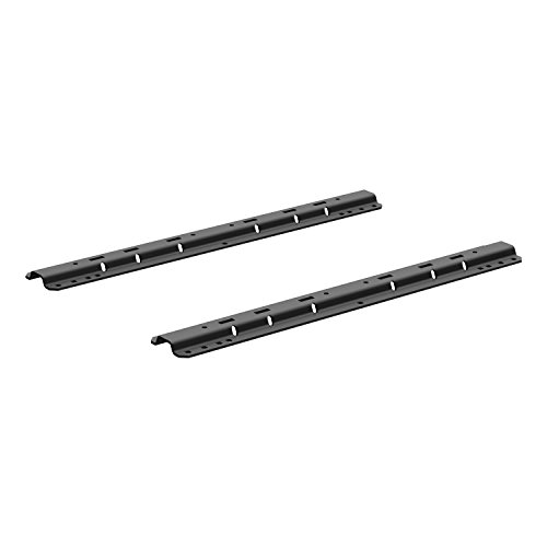 CURT 16204 Black Universal 5th Wheel Rails & Mounting ()
