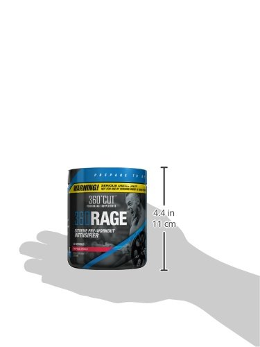360RAGE, #1 Most Intense Pre Workout Supplement for Serious Users Only, Tropical Punch, 30 Servings