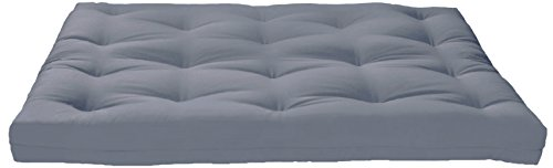 The Grey Artiva USA Futon Sofa Mattress unfolded