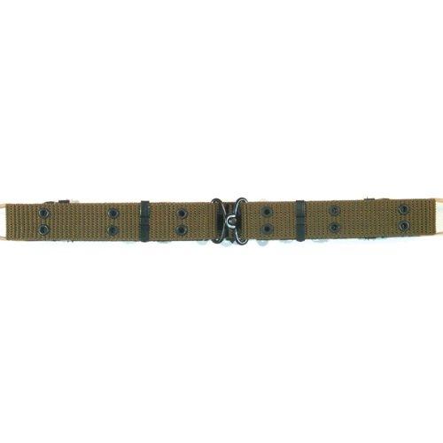 Ultimate Arms Gear OD Olive Drab Green Nylon Mini Pistol Belt - Metal Buckle