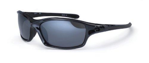 Noir soleil Bloc pour de le sport brillant enveloppantes Lunettes cm Daytona 14 CSqg8