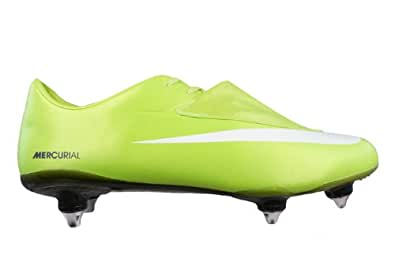 Nike Mercurial Vapor VI SG Mens soccer Boots / Cleats - Lime Green - SIZE US 11.5