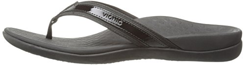 Vionic In44 Black Womens Sandals Islander Leather ppqUxzr