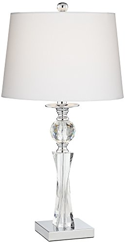 - Julian Crystal Twist Column Table Lamp