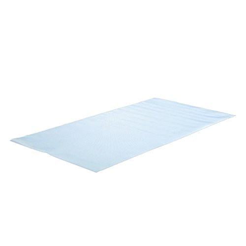 NordicTrack 3' x 6' Durable Exercise Fitness Equipment Vinyl Floor Mat, Clear