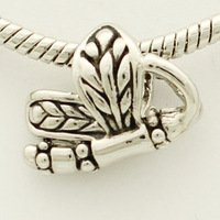 Charm Bead Dragonfly Shaped Pugster Charms Fits Pandora