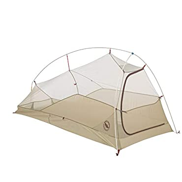 Big Agnes Fly Creek HV UL1 1 Person Tent-Olive (THVFLYG116)