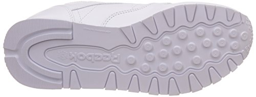 White Reebok Intense Leather Femme Basses Blanc Classic Baskets wzqZO
