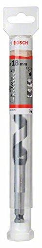 Black//Silver Bosch 2608585711 Auger bit-Hex Shank 30x100x160 30 x 100 x 160 mm