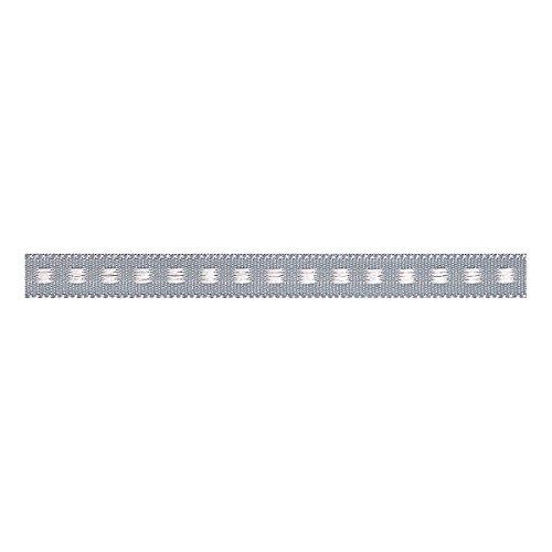 Berisfords Box Stitch: 5m x 7mm: Grey