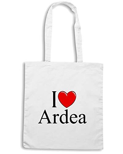 Borsa Shopper Bianca TLOVE0030 I LOVE HEART ARDEA WHITE