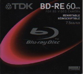 TDK Rewritable Blu-ray Disc BD