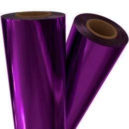 Purple Metallic Laminating/Toner Fusing Foil (8