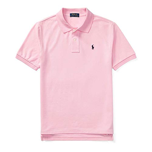 Polo Ralph Lauren Big And Tall - Polo Ralph Lauren Classic Fit Mesh Pony Logo Polo Shirt, Pink, 2X-Large Big