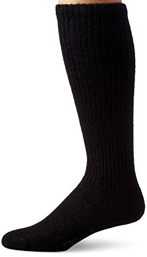 - JOBST Sensifoot Closed Toe Crew Socks, Black, Medium