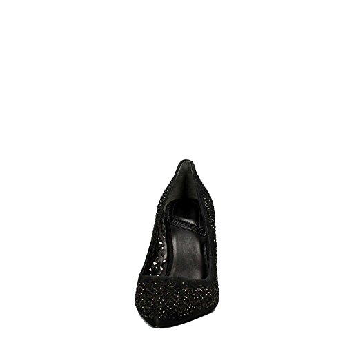 Black 077 35 What Donna Decollete For Pelle Nero CxZw1x