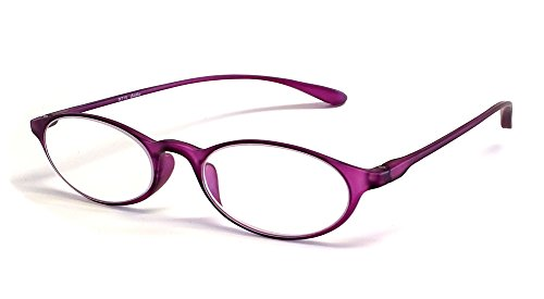 Calabria Reading Glasses - 719 Flexie in Violet +6.00 719 Glasses