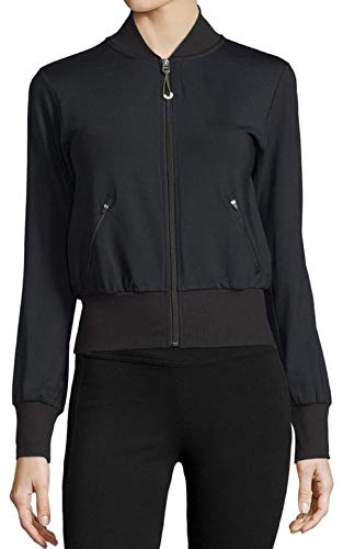 Alo Yoga Women's Flight Jacket (Black, (Alo Womens Shell)