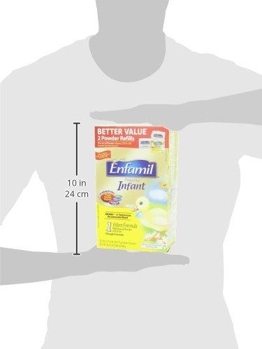 Enfamil PREMIUM Non-GMO Infant Formula - Reusable Powder Tub & Refills, 121.8 oz by Enfamil (Image #12)