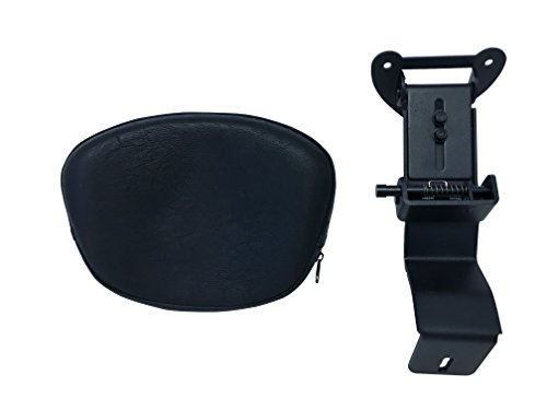 Fully Adjustable Driver's Backrest for 00+ Kawasaki Vulcan VN1500 Classic / Nomad - Contoured
