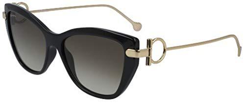 (Salvatore Ferragamo Women's SF928SL Black One Size)