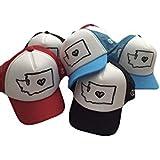 b40860b348c40 Baby Toddler Washington Love adjustable trucker hat. WA Heart baby toddler  foam trucker