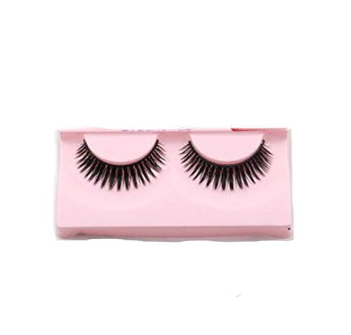 Natural False Eyelashes Fake Lashes Long Makeup 3D Mink Lashes Eyelash Extension Mink Eyelashes,1 Pair Up38 -