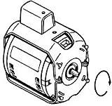 Armstrong Pumps 805316-010 Circulator Pump Motor 1/12 Hp, 8.75'' x 7.5'' x 8''