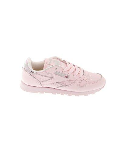 Rose Reebok En Cuir Chaussures Classic Rosa zXTw7