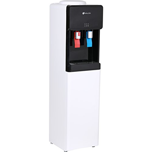 Avalon Top Loading Water Cooler Dispenser - Hot & Cold Water, Child Safety Lock, Innovative Ultra Slim Design, Holds 3 or 5 Gallon Bottles - UL/Energy Star Approved by Avalon (Image #2)