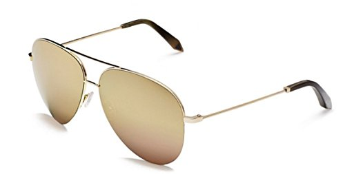 Victoria Beckham Classic Victoria 18ct Gold - Style Victoria Sunglasses Beckham