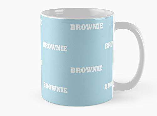 Brownie Simple Food Halloween Costume Party Cute & Funny T shirt Mug, Standard Mug Mug Coffee Mug - 11 oz Premium Quality printed coffee mug - Unique Gifting ideas for -