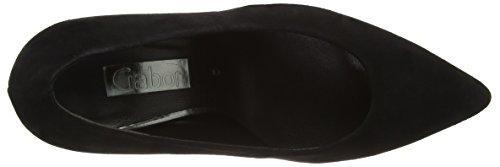 Gabor Shoes Fashion, Zapatos de Tacón para Mujer Negro (Schwarz 17)