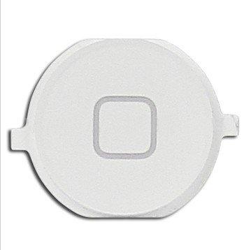 Goliton® casa pulsante sostituzione a chiave per iPhone 4S - Bianco