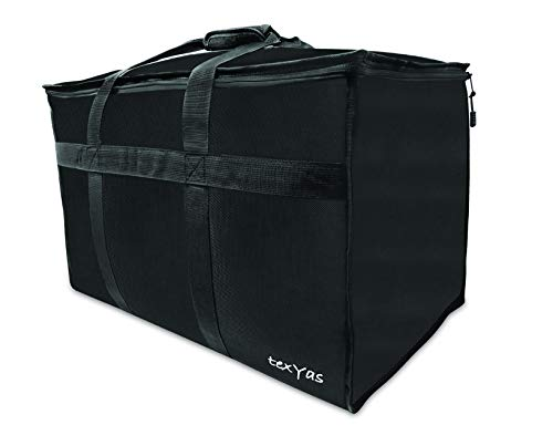 - TexYas Extra Large Insulated Thermal Food Delivery Bag | Commercial Grade, Ideal for Groceries, Catering, Instacart, Uber Eats, Grubhub, Postmates, Doordash and Restaurant use | Washable, Leakproof