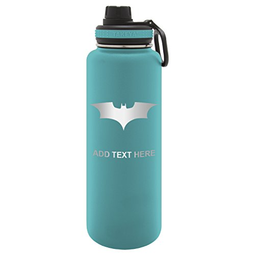 - Army Force Gear Personalized Batman Begins The Dark Knight Laser Engraved Thermoflask Leak Proof Insulated Stainless Steel Workout Sports Water Bottle Tumbler, 24 Oz Ocean Blue