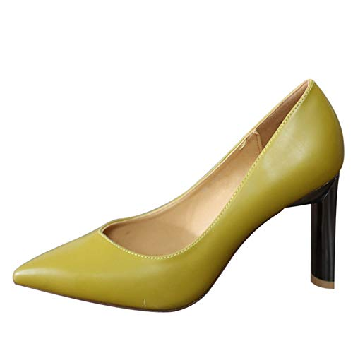 spring shoes elegant party and single 34 heels pointed European shoes temperament EU autumn work shoes high sexy YMFIE 1nFUOU