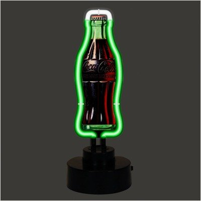 Neonetics 4CCVBT COCA-COLA VINTAGE BOTTLE NEON SCULPTURE