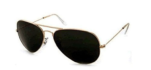 Unisex (para hombre/para mujer) clásico negro y dorado 2 ...