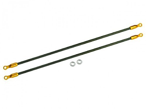 (Microheli 2mm Carbon Tail Boom Support set (GOLD) - BLADE 200 SRX)