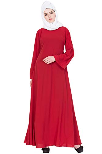 Mushkiya ABU-002 Classic Umbrella Abaya Dress burkha for women girl