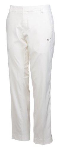 Puma Golf NA Men's Tech Style 34-Inch Pant, White, 32