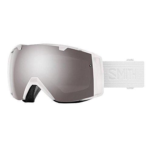 Smith Optics Adult I/O Snowmobile Goggles Whiteout / ChromaPop Sun Platinum Mirror by Smith Optics
