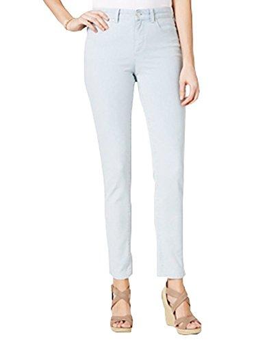 (Charter Club Bristol Printed Skinny Ankle Jeans (Wash Railroad Stripe,)