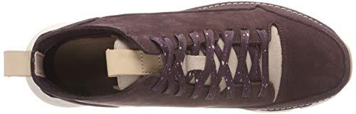 Tri Clarks aubergine Baskets Free Femme Violet Hautes dRSqwR